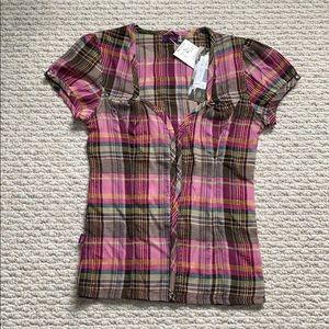Tops - Button up short sleeve shirt